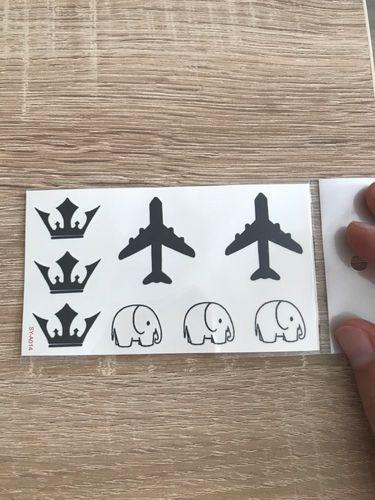 Airplane Tattoo Small Temporary Tattoos By Ftattoos