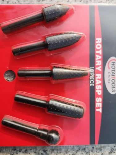 Alex B. review of Rasp Chisel Drill Bits