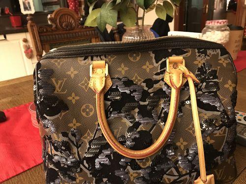 982dd67917176 Louis Vuitton Monogram Fleur De Jais Sequins Eclipse Speedy 30 TR4140 -  Reviews. By Designer Exchange Ltd · Go to store. janet M.