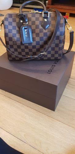 Louis Vuitton Damier Ebene Speedy Bandouliere 25 6fb404265771e