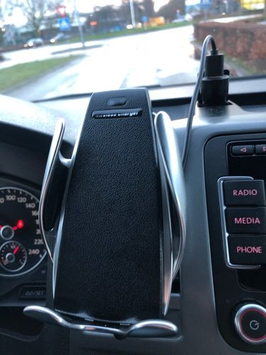 Dianna Durgan  review of 💥70% OFF Today - Automatic Clamping Wireless Car Charger Mount