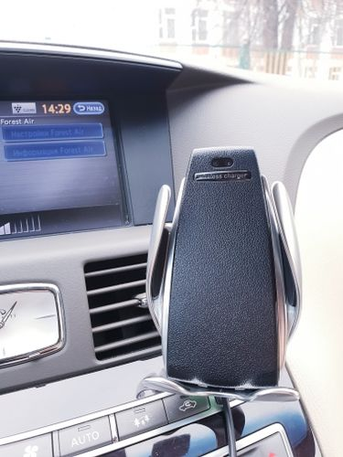 Carley Nader review of 💥70% OFF Today - Automatic Clamping Wireless Car Charger Mount