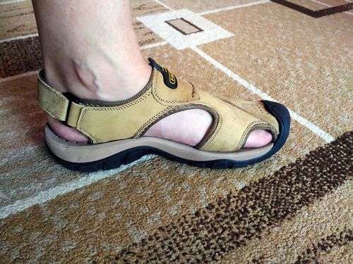 c5f973fa2fdd ... Men s Summer Wading Genuine Leather Beach Sandals Hiking Shoes -  Reviews. By Kaaum · View price. Gary D.