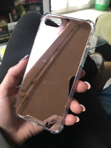 J***t review of Luxury Mirror Plated iPhone Case