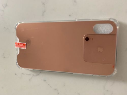 A***o review of Luxury Mirror Plated iPhone Case