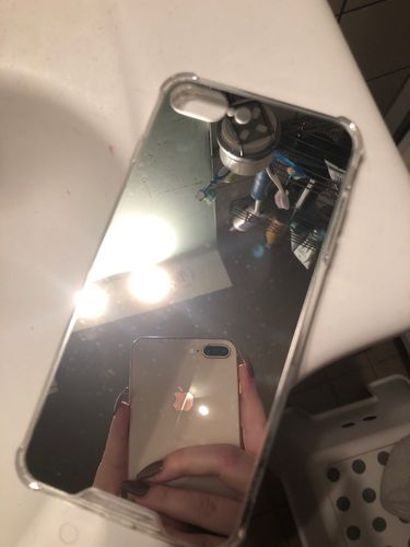 J***r review of Luxury Mirror Plated iPhone Case