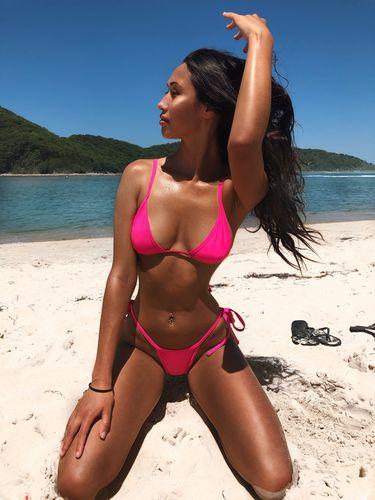 6f00820ee8e2d 9.0 Swim Ibiza Bikini Bottoms Fluro Pink