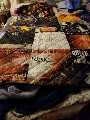 Karen M. review of Motorhead Band Studio Albums Quilt Blanket