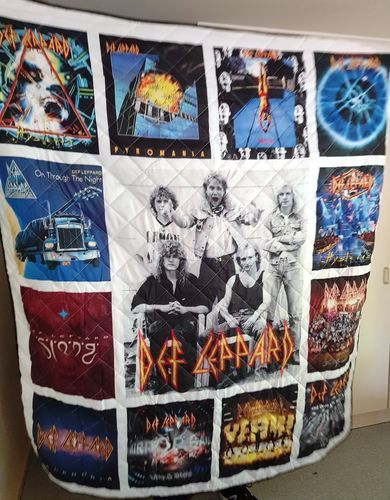 Alison  B. review of Motorhead Band Studio Albums Quilt Blanket