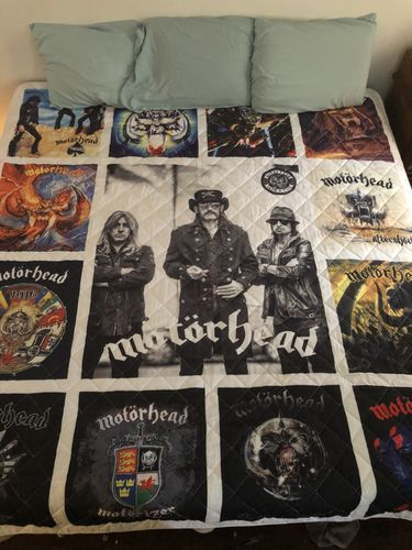 Randy J. review of Motorhead Band Studio Albums Quilt Blanket