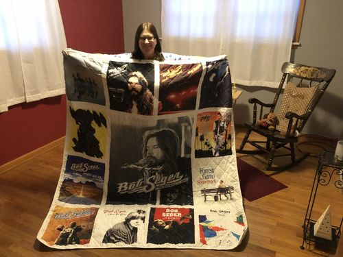 Daniel W. review of Motorhead Band Studio Albums Quilt Blanket