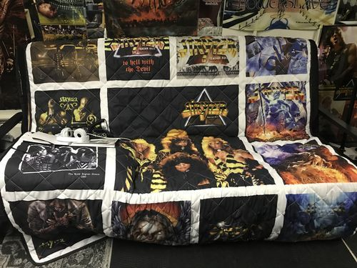 Patricia L. review of Motorhead Band Studio Albums Quilt Blanket