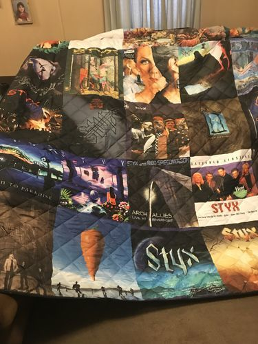 Robbie F. review of Motorhead Band Studio Albums Quilt Blanket
