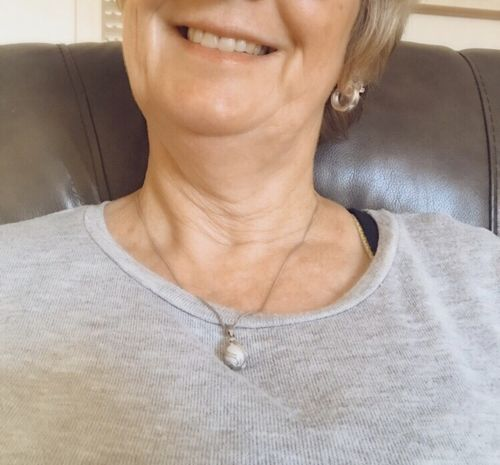 Wendy C. review of Freshwater Pearl Silver Necklace