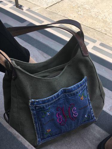 96cdd7fb7 The Outlander Canvas Messenger Bag. Joyce H.