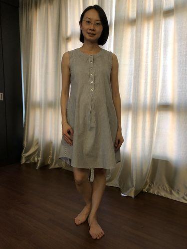 2ee15b484a5f0 Mermaid Hem Bodycon Nursing Dress in Red. Jen L.