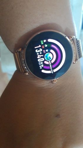 M***a review of ThinkBand™ Crystal Smart Watch
