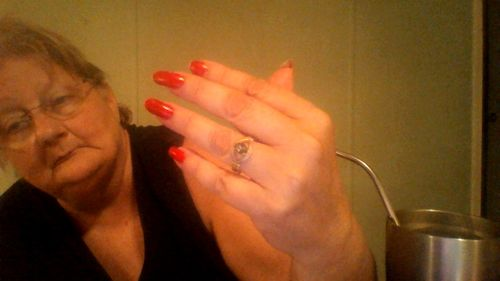 Cheryl D. review of Rainbow Topaz & Crystal Ring