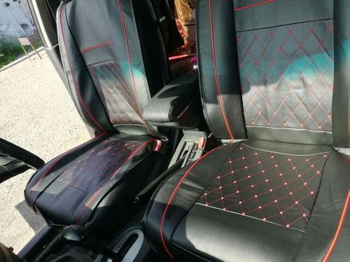 A***n review of ThinkAuto Leather Universal Car Seat Covers
