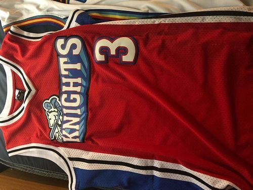size 40 bdbbd fc01f Calvin Cambridge #3 Los Angeles Knights Basketball Jersey