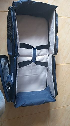 R***o review of T3-Travel BabyBag. Multi-function portable Travel Bed. Great Cradle  For Newborns. Also  Changing Diapers.  Awesome Newborn Crib.