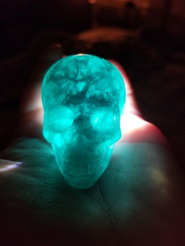 lissette b. review of Natural Healing Green Crystal Skull