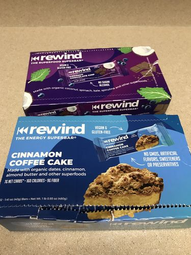 Charity W. review of Cinnamon Coffee Cake (Box of 12 Superbars)