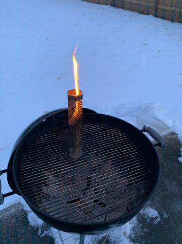 Kacey Bowden review of Smoke Drum - Turn Any Grill Into A Smoker
