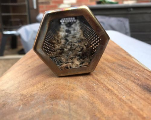 Mercedes Rodriguez review of Smoke Drum - Turn Any Grill Into A Smoker