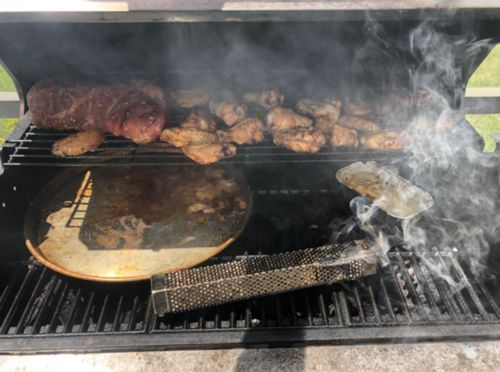 Saul Pacheco review of Smoke Drum - Turn Any Grill Into A Smoker