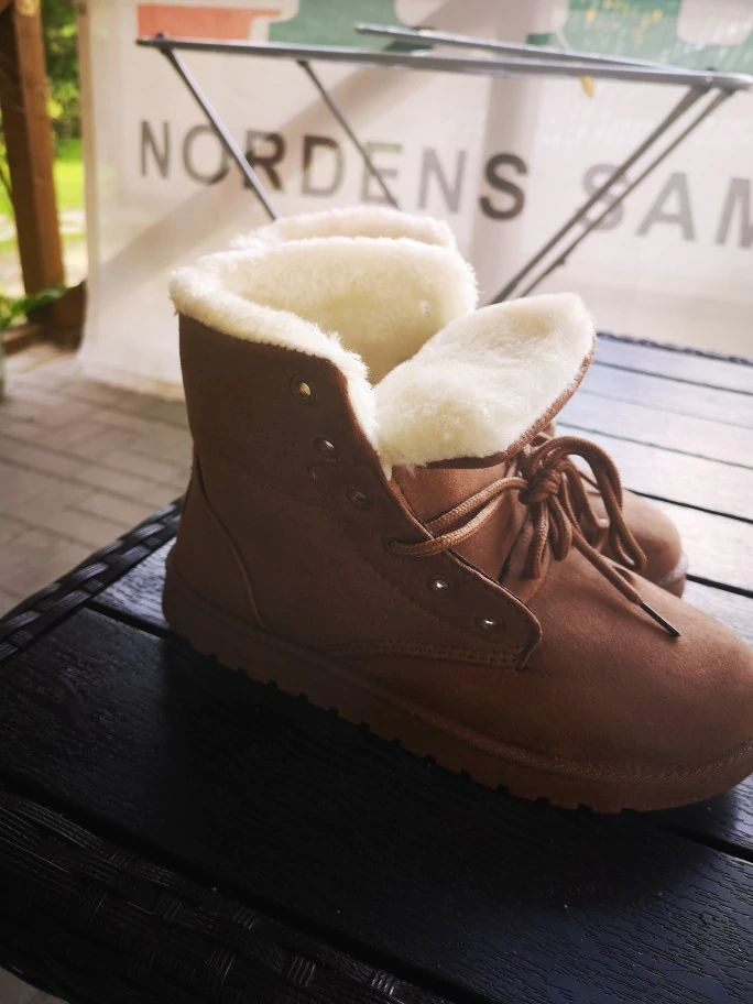 Stephanie A. review of Fluffy Snow Boots