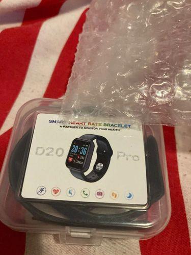 Carol S. review of Smartwatch Y68 D20 Relógio Inteligente