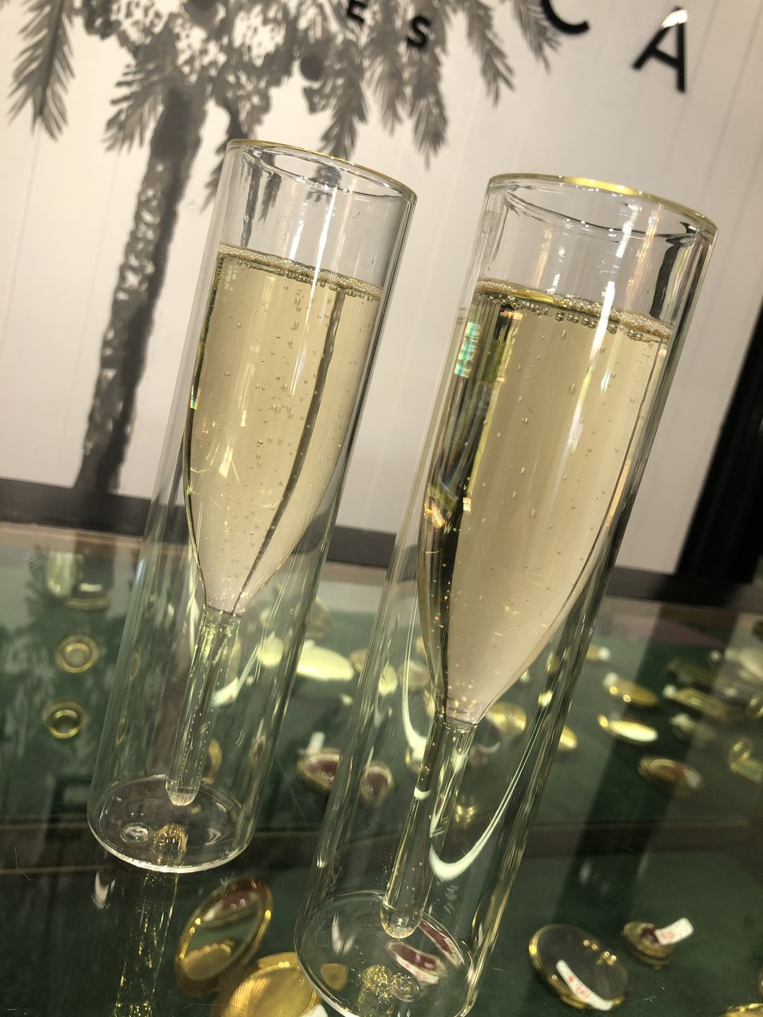 Rebecca L. review of Aquamarine Luxury Flutes