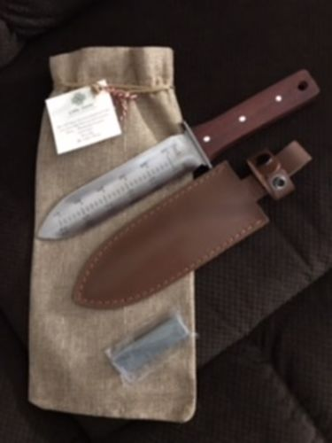 Rosie K. review of Hori Hori Garden Tool and Knife