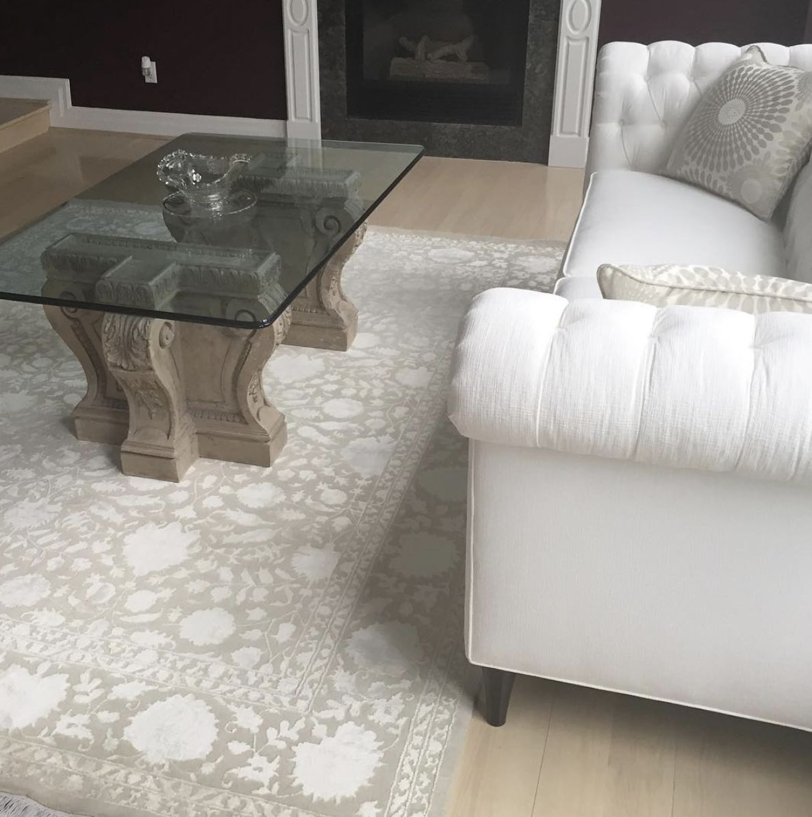 Amy review of Silk Flower Jaipur Rug