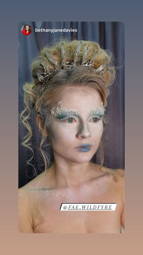 Ice Fx Makeup Frozen Kit The