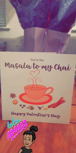 Ravina  G. review of You're the Masala to my Chai