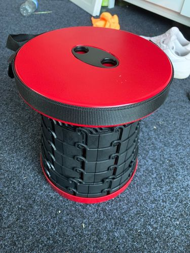 Alberto R. review of Kaiteki™ Telescopic Compact Stool