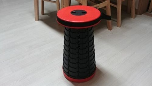 Carlo B. review of Kaiteki™ Telescopic Compact Stool