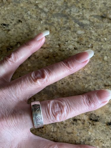 Sizes 7-13 Replica Newfoundland Fifty Cent Coin Ring