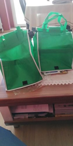 D***a review of Eco-Friendly Foldable Reusable Shopping Bags