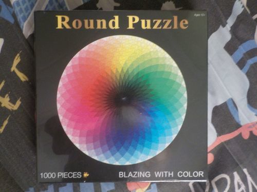 Chris A. review of Moruska Large 1000-Piece Rainbow Round Puzzle for Kids & Adults
