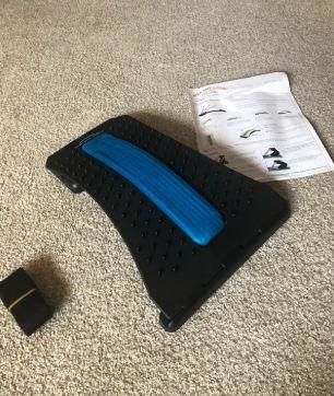 Wesley review of SpineDeck® Orthopaedic Back & Sciatica Nerve Stretcher