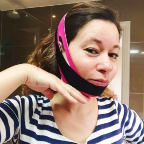 Brittany M. review of Face Bra® - The original face belt