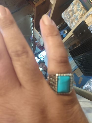 Andres W. review of Vintage Turquoise Stone Ring