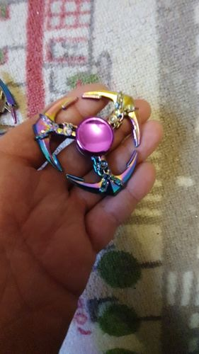 Hand Spinner Ancre Arc en Ciel photo review