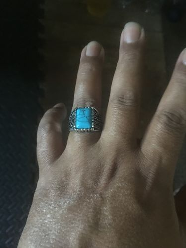 John A. review of Vintage Turquoise Stone Ring