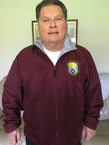 Duane S. review of US Air Force E-4 Buck Sergeant Airman For Life Embroidered Hoodie Team Jacket