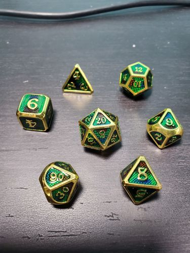 Antonio A. review of Dragon Scale [D&D Metal Dice]