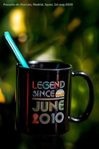 JUAN S. review of Legend Since June 2010 Vintage 10th Birthday Gifts Mug